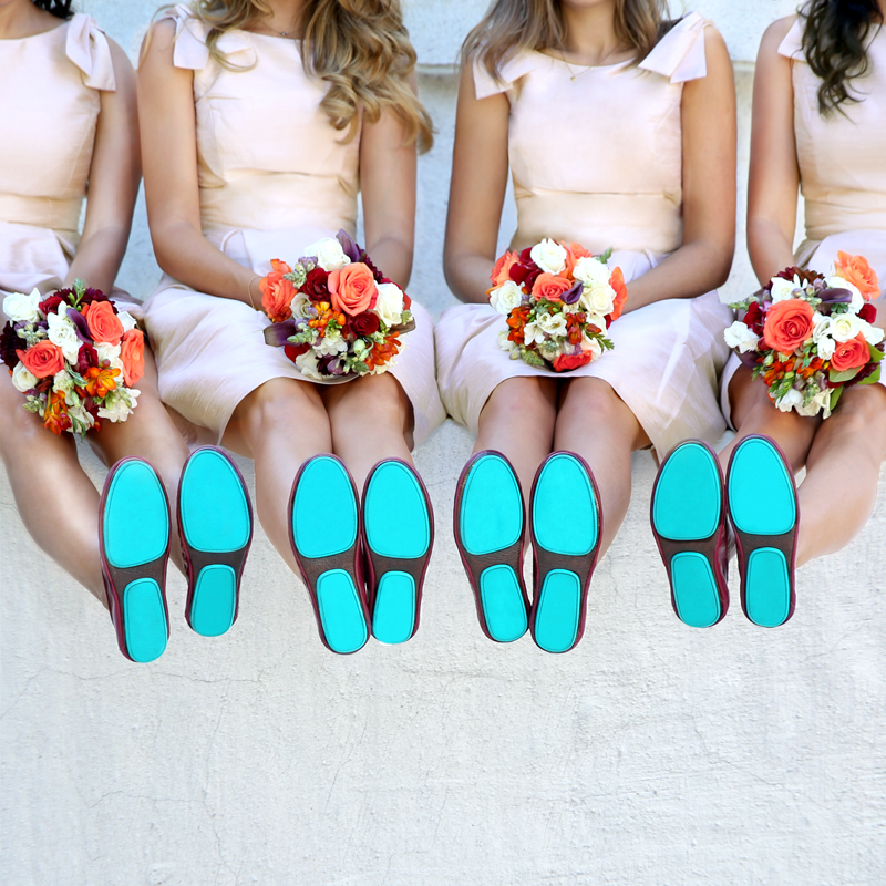 Something Tiek Blue | Tieks Weddings
